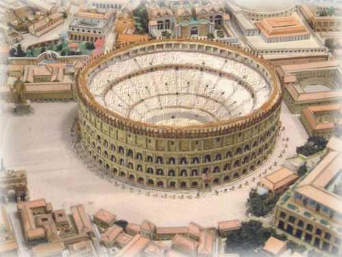"La capitale de l'empire romain ""Rome"" Colise"